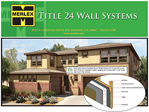 Merlex Title 24 Wall Systems