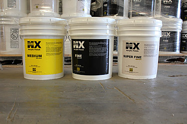 MX Acrylic Finishes