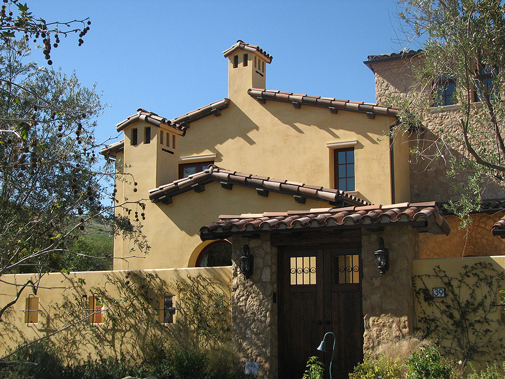 santa barbara finish color coat stucco