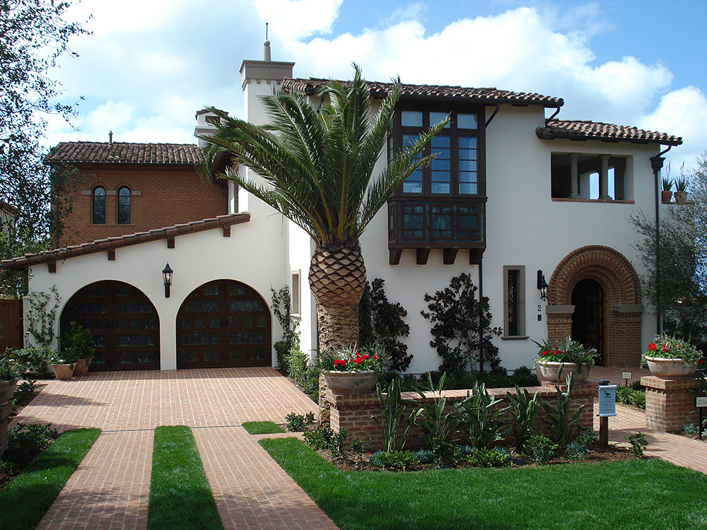 Exterior Stucco All About Santa Barbara Finish Color
